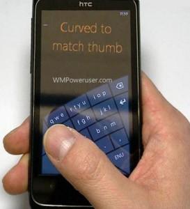 teclado windows phone 8