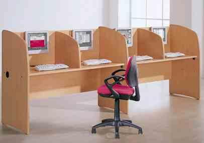 Mobiliario para un ciber caf en laptop for Mobiliario para cafes