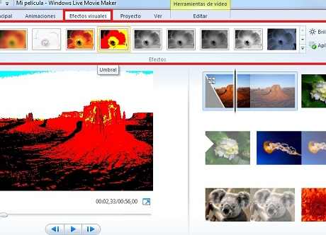 windows movie maker imagenes