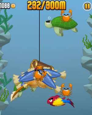 ninja fishing juego de pesca android