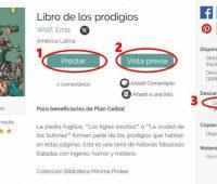 Descargar libros biblioteca PLAN CEIBAL